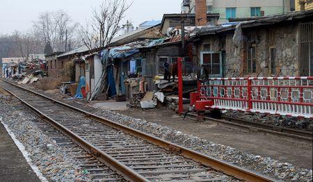 slums: Slums in China Stock Photo