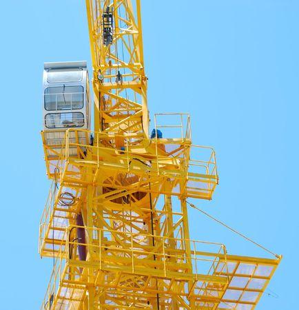 crane parts: Parte de la gr�a  Foto de archivo