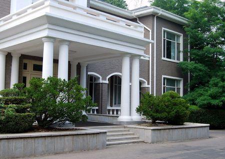 duplex: Entrance. Part of the house.
