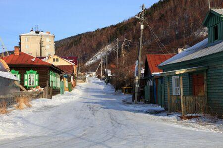 Listvyanka settlement, Lake Baikal, Russia. Stock Photo - 6304990