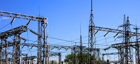 electrical power: Electrical power station
