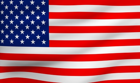 flag of usa: Flag of USA. Close up. Front view.