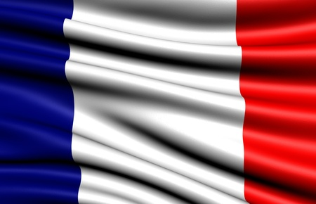 eu flag: Flag of France. Close up.