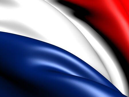 Flag of Netherlands. Close up. Stock Photo - 9216910