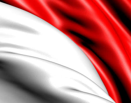 Flag of Indonesia. Close up. Stock Photo - 9525088