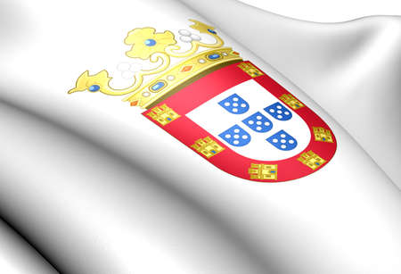 Portugal coat of arms. Close up.    photo
