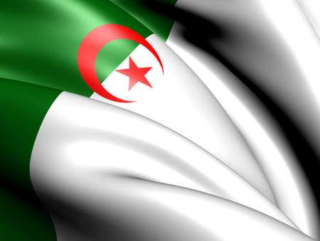 Flag of Algeria. Close up.    Stock Photo - 11751623