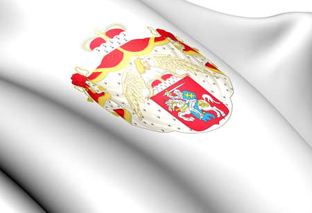 Lithuania coat of arms. Close up.    photo
