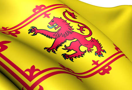 Royal Standard of Scotland. Zamknij si?. photo