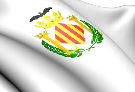 Valencia city coat of arms, Spain. Close up.    photo