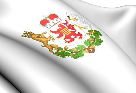 limburg: Limburg Coat of Arms, Belgium. Close Up.