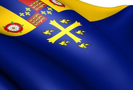 ウェストミン スター寺院の旗。クローズ アップ。