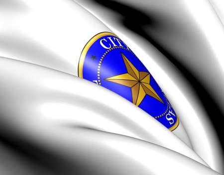 Dallas Coat of Arms, USA. Close Up.    photo