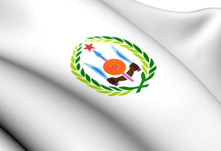 Djibouti Coat of Arms. Close Up.