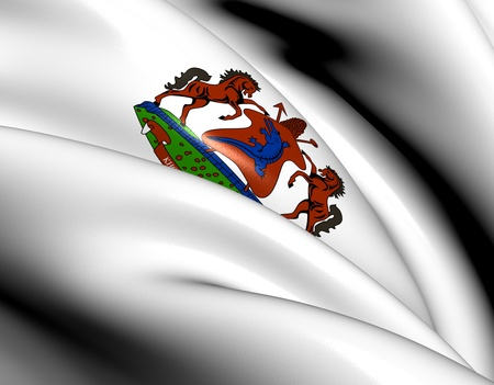 Lesotho Coat of Arms. Close Up.    photo