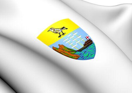 helena: Saint Helena Coat of Arms. Close Up.  Stock Photo