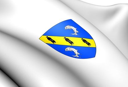 Herm Coat of Arms. Close Up.  Stock Photo - 13808620
