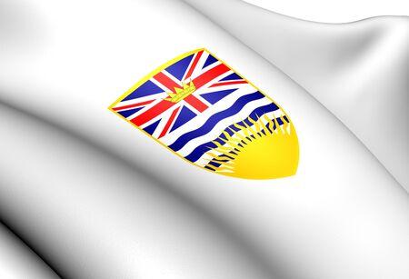 british columbia: British Columbia Coat of Arms, Canada. Close Up.
