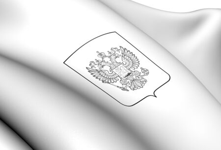 Russia Coat of Arms. Close Up.    photo