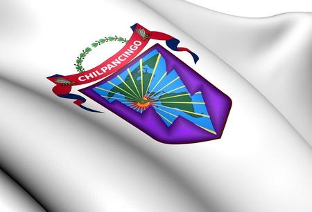bravo: Chilpancingo de los Bravo Coat of Arms, Mexico. Close Up.