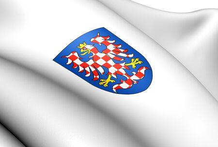 morava: Moravia Coat of Arms. Close Up.