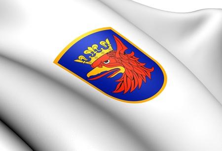 Szczecin Coat of Arms, Poland  Close Up     photo