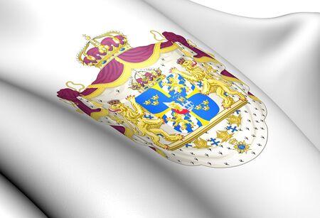 sverige: Sweden Coat of Arms  Close Up