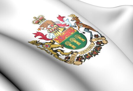 Saskatchewan Coat of Arms, Canada  Close Up  photo