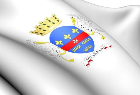 blason: Saint Barthelemy Coat of Arms  Close Up