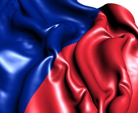 blason: Flag of Paris, France  Close Up