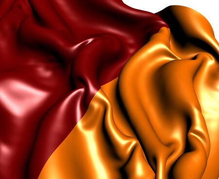 Flag of Rome  Close Up   photo