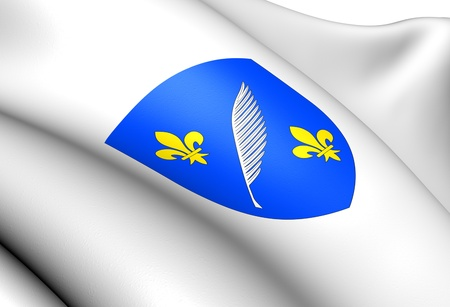 blason: Cannes Coat of Arms, France. Close Up.    Stock Photo