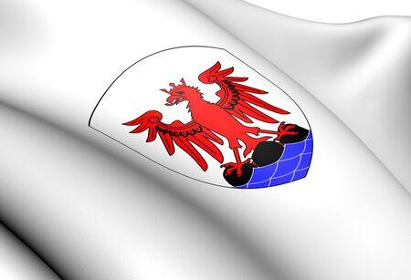 blason: Nice Coat of Arms, France  Close Up