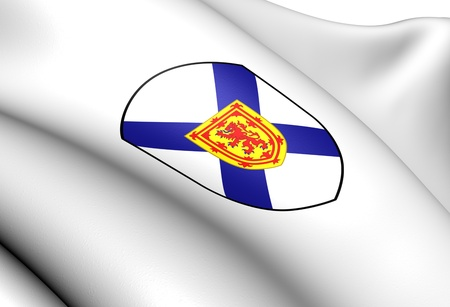 Nova Scotia Coat of Arms, Canada  Close Up  photo