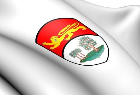 edward: Prince Edward Island Coat of Arms, Canada  Close Up