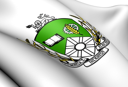 regina: Saskatoon Coat of Arms, Canada  Close Up