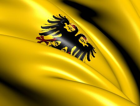 Banner of  Holy Roman Emperor (After 1400). Close Up.    photo