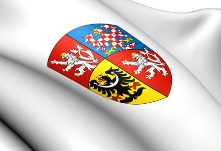 Czech Republic Coat of Arms  Close Up     photo