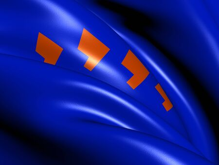 Flag of Berkelland, Netherlands  Close Up     photo