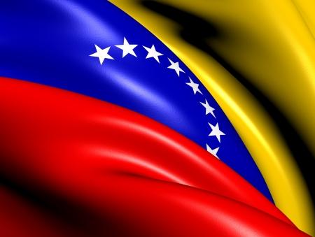 bandera de venezuela: Bandera de Venezuela. Close Up. Foto de archivo