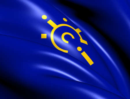 central european: Central European Free Trade Agreement Flag  Close Up