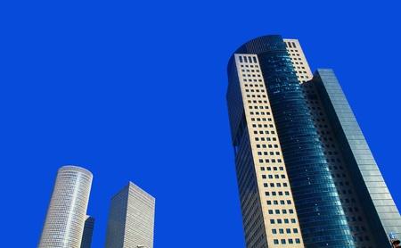 Skyscrapers in the Tel Aviv, Israel. Day. Stock Photo - 16945179