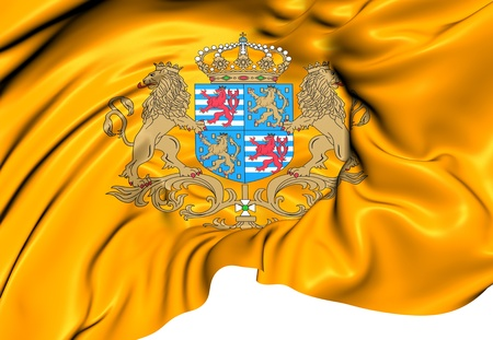 duke: Standard of the Grand Duke of Luxembourg. Close Up.