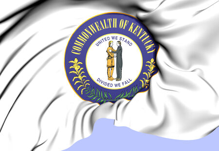 kentucky: State Seal of Kentucky, USA. Close Up.