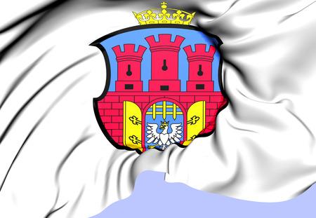 krakow: Krakow Coat of Arms. Close Up.