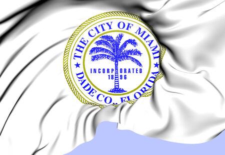 Miami Coat of Arms, USA. Close Up.    photo