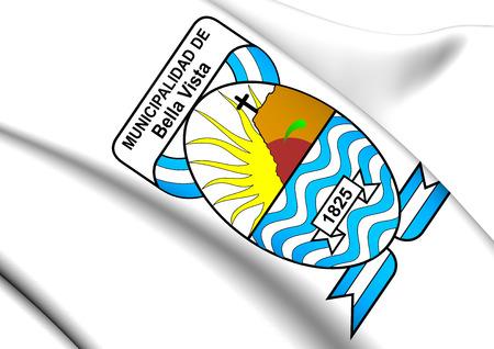 ベラ ビスタの紋章、アルゼンチン。クローズ アップ。