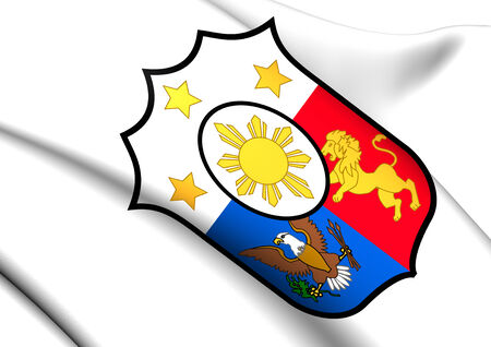 Philippines Coat of Arms. Close Up.    photo