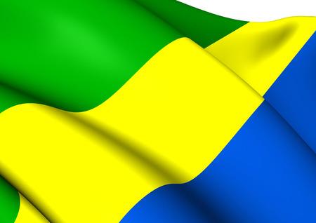 gabon: Flag of Gabon