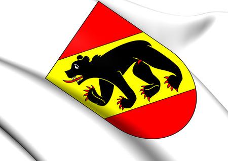 Berne Manteau Canton de bras, Suisse. Fermer. Banque d'images - 27858936